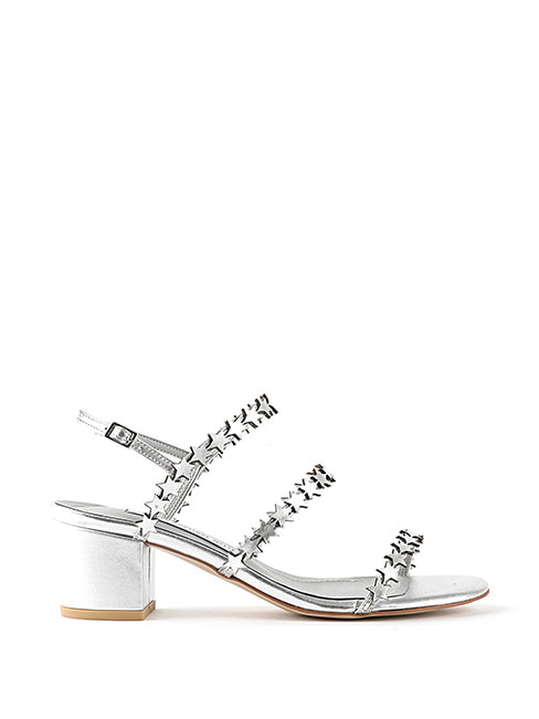 2018 summer Starlight Sandals - 실버 (2cm,5cm,7cm,9cm)