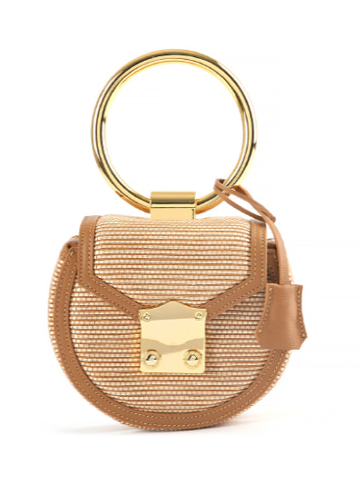 Myeyeko Exclusive Line - LOVE Madelein Bag 마들렌백 / CAMEL RATTAN